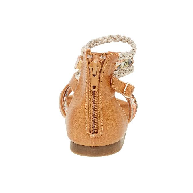 Sandały z paskami wokół kostki bull-boxer, brązowy, 461-3001 - 17