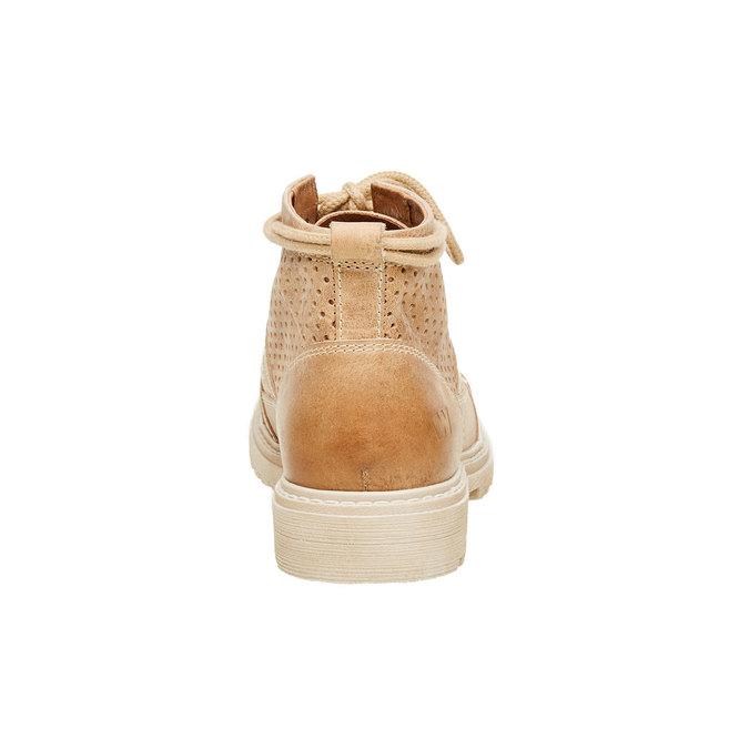 Skórzane botki weinbrenner, brązowy, 594-4138 - 17