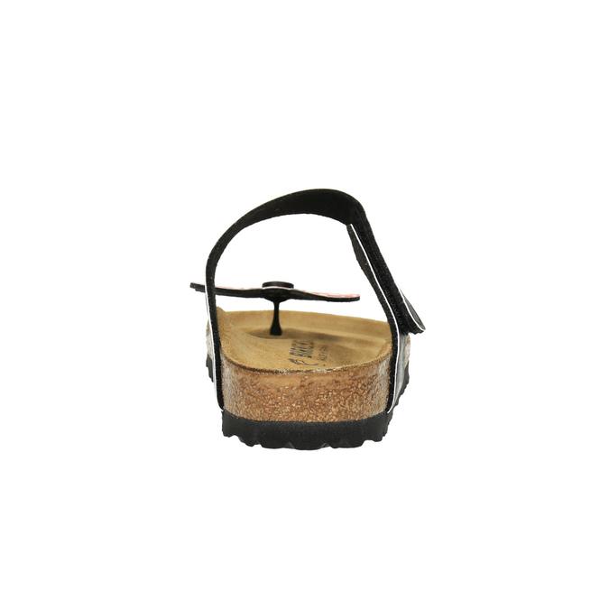 Japonki damskie zkokardą birkenstock, czarny, 561-6013 - 17