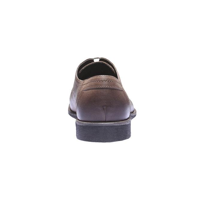 Skórzane półbuty w stylu Derby bata, brązowy, 824-3274 - 17