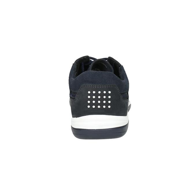 Skórzane buty sportowe na co dzień, czarny, 833-9003 - 17