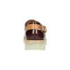 Półbuty ze skóry zprzezroczystą podeszwą weinbrenner, czerwony, 598-5603 - 17