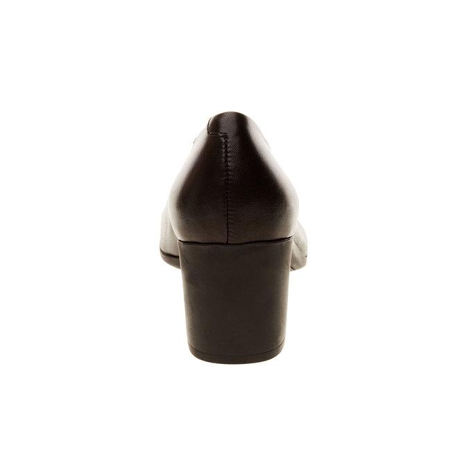 Skórzane czółenka flexible, czarny, 624-6706 - 17