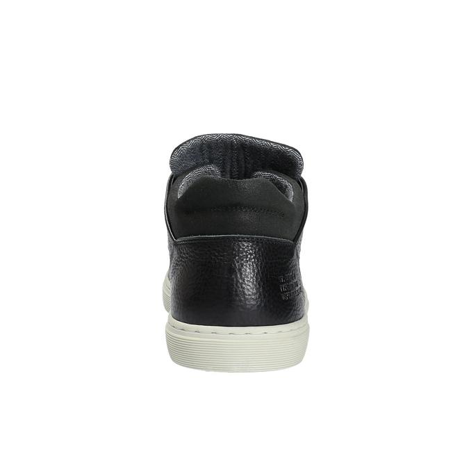 Nieformalne trampki męskie bata, czarny, 844-6624 - 17