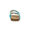 Damskie skórzane pantofle de-fonseca, 573-9620 - 17