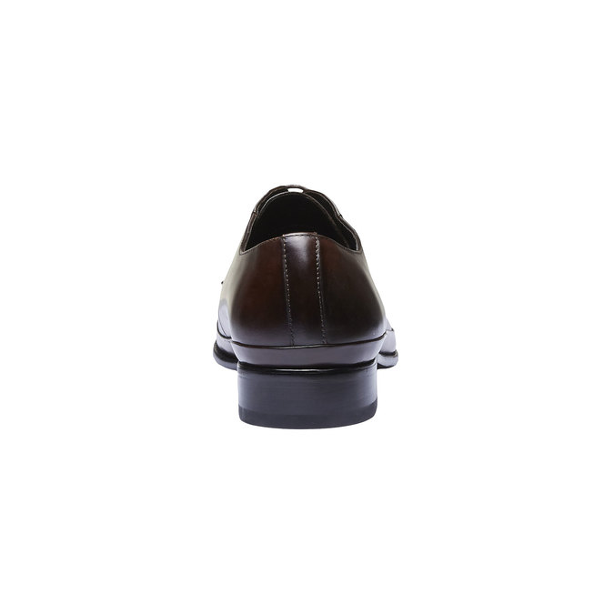 Skórzane półbuty o kroju Derby bata, brązowy, 824-4550 - 17