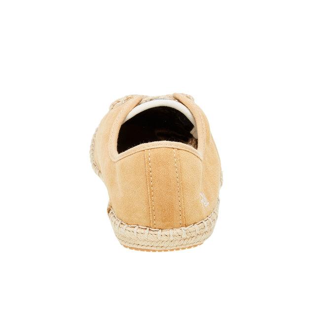 Męskie skórzane buty sportowe pepe-jeans, brązowy, 823-3011 - 17
