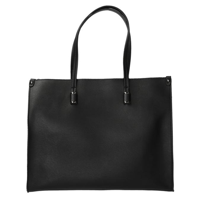 Kwadratowa torebka w stylu Shopper bata, czarny, 961-6736 - 26