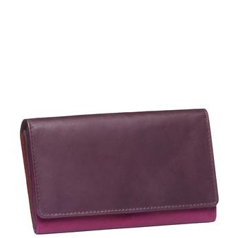 Damski skórzany portfel bata, czerwony, 944-5156 - 13