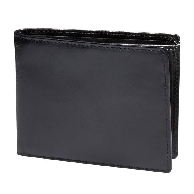 Skórzany męski portfel bata, czarny, 944-6122 - 13
