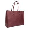 Damska torebka w stylu Shopping bata, czerwony, 961-0736 - 13