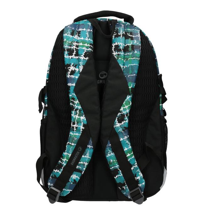 Plecak szkolny dla dzieci bagmaster, zielony, niebieski, 969-9602 - 26