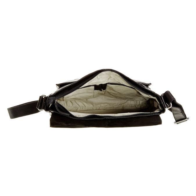 Skórzana torba bata, czarny, 964-6178 - 15