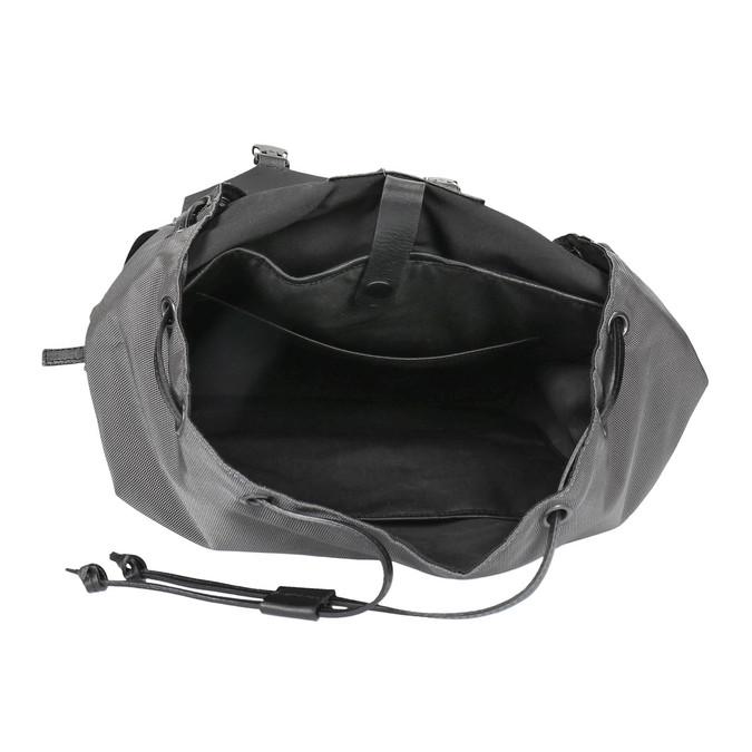 Szary plecak unisex royal-republiq, czarny, 964-6209 - 15