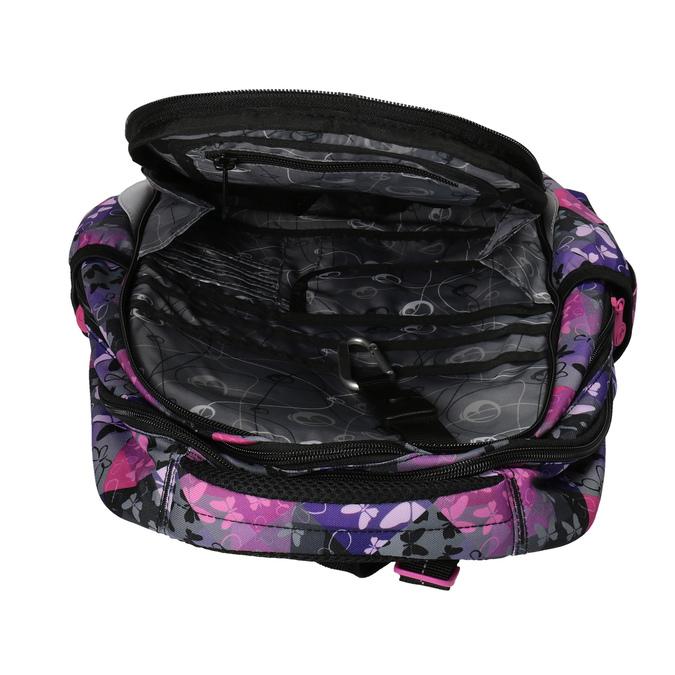 Plecak szkolny w motyle bagmaster, różowy, fioletowy, 969-5607 - 15