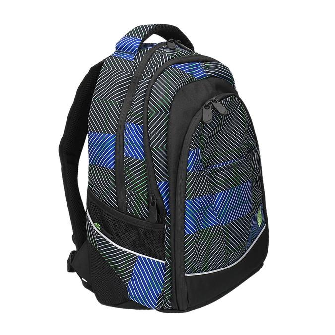 Plecak szkolny z nadrukiem bagmaster, niebieski, 969-9614 - 13