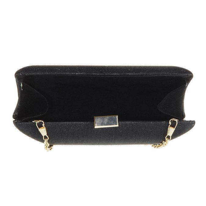 Kopertówka w stylu Minaudière bata, czarny, 969-6237 - 15