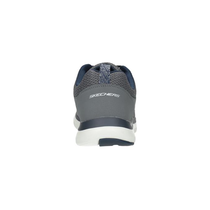 Szare sportowe trampki męskie skecher, szary, 809-2349 - 17