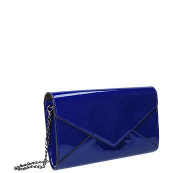 Kopertówka damska wkolorze niebieskim bata, niebieski, 961-9624 - 13