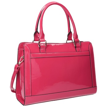 Różowa torebka damska bata, różowy, 961-1610 - 13