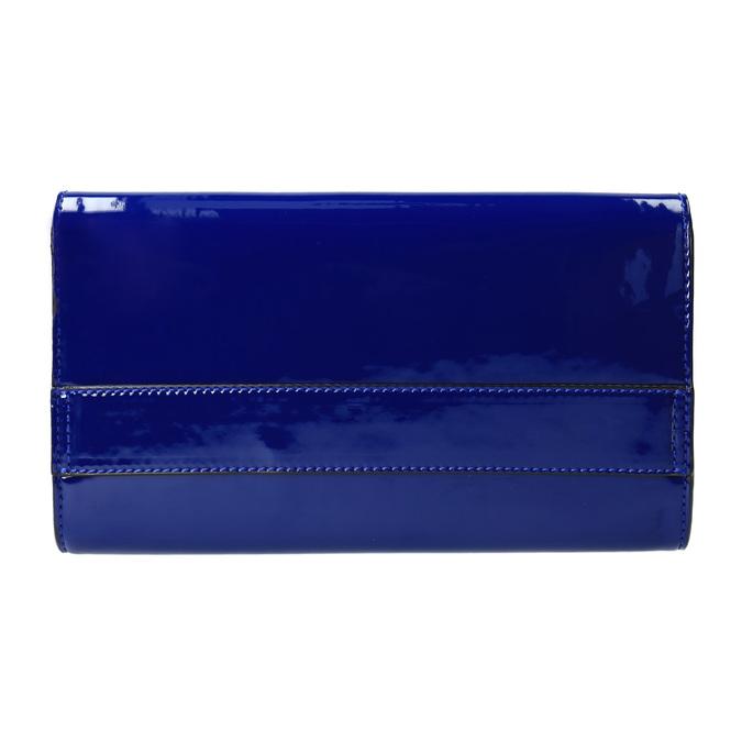 Kopertówka damska wkolorze niebieskim bata, niebieski, 961-9624 - 26
