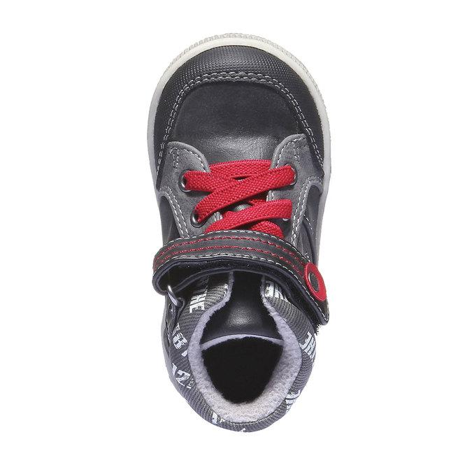Buty dziecięce mini-b, czarny, 111-6102 - 19