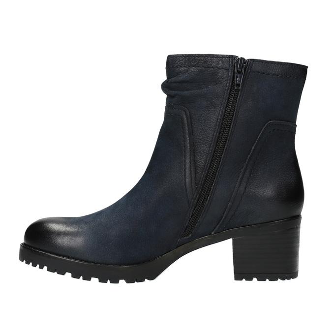 Botki damskie bata, niebieski, 696-9603 - 26
