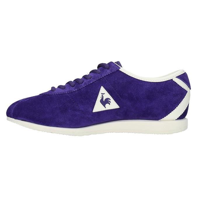 Fioletowe damskie buty sportowe le-coq-sportif, fioletowy, 503-9567 - 26