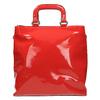 Czerwona torba damska do ręki bata, czerwony, 961-5606 - 19