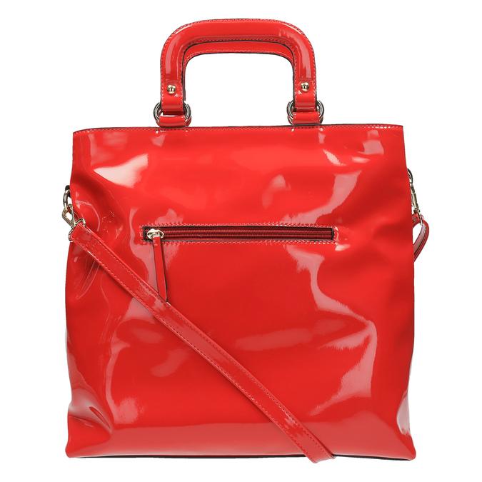 Czerwona torba damska do ręki bata, czerwony, 961-5606 - 26