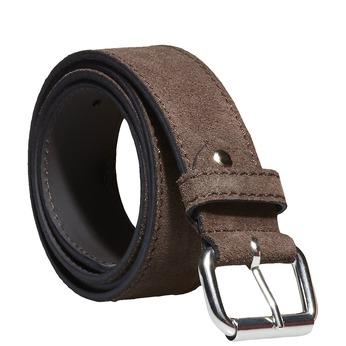 Skórzany pasek męski bata, brązowy, 953-4106 - 13