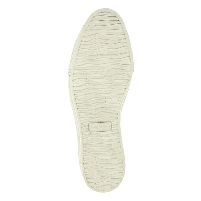 Skórzane buty Slip-on na szerokiej podeszwie bata, brązowy, 526-4605 - 26