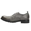 Skórzane półbuty męskie onieformalnym stylu bata, szary, 826-2732 - 26