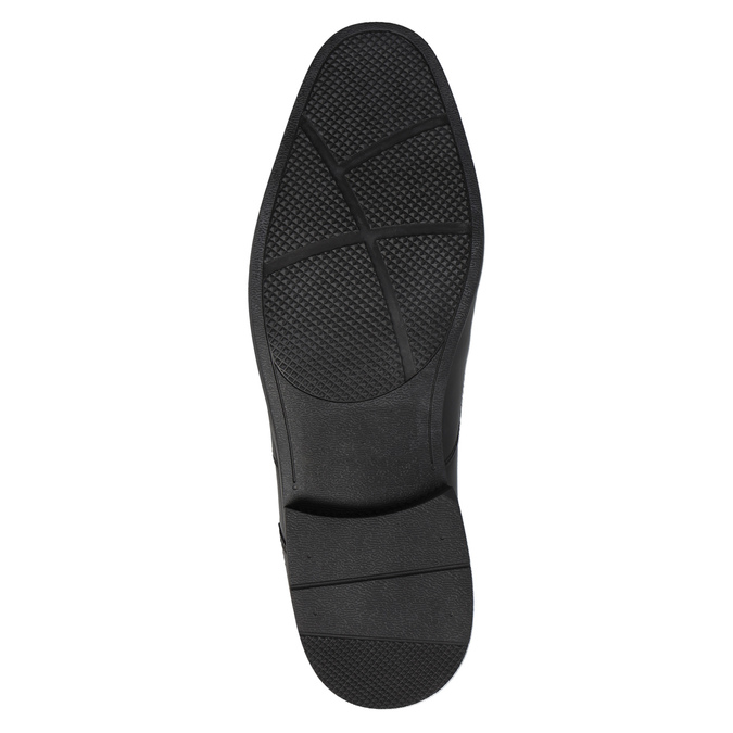 Męskie skórzane półbuty rockport, czarny, 824-6029 - 26