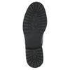 Lakierowane półbuty na wyrazistej podeszwie bata, czarny, 521-6600 - 26