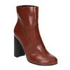 Botki na szerokim obcasie bata, brązowy, 791-4611 - 13