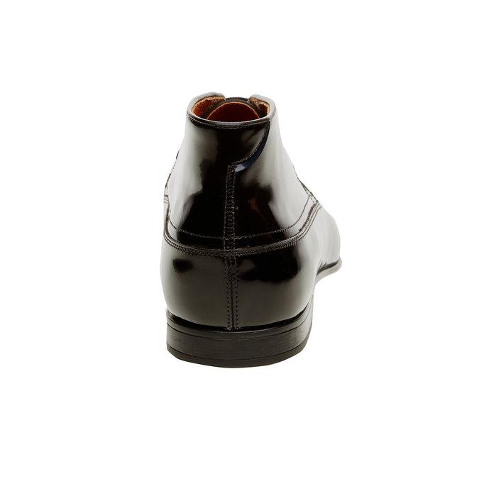 Botki z lakierowanej skóry bata, czarny, 898-6797 - 17