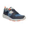Męskie buty sportowe na solidnej podeszwie bata, niebieski, 841-9601 - 13