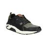 Męskie buty sportowe na solidnej podeszwie bata, czarny, 841-6604 - 13