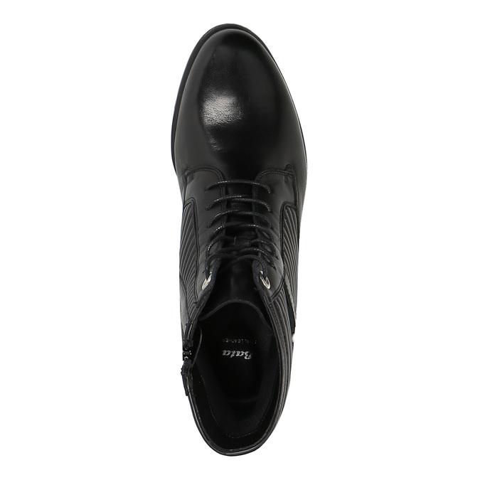 Damskie botki bata, czarny, 594-6617 - 19