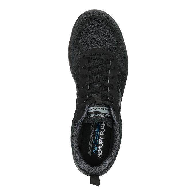 Sportowe trampki męskie skechers, czarny, 809-6350 - 19