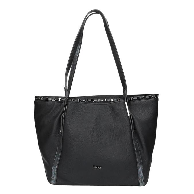 Czarna torba damska gabor-bags, czarny, 961-6006 - 26
