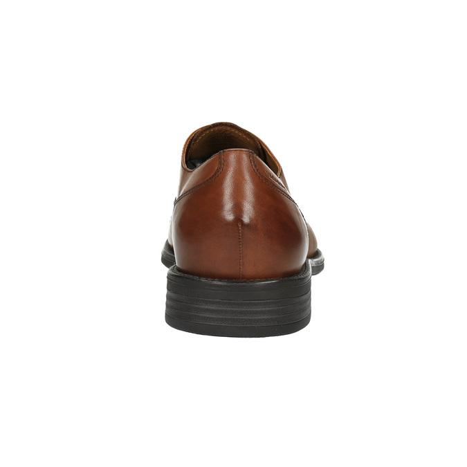 Półbuty męskie ze skóry vagabond, brązowy, 824-3003 - 17