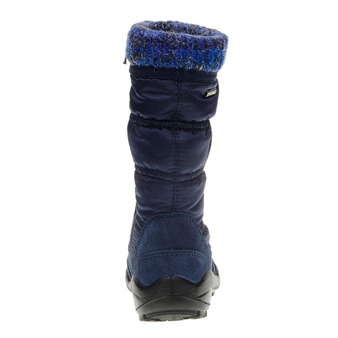 Dziewczęce buty zimowe mini-b, niebieski, 299-9151 - 17