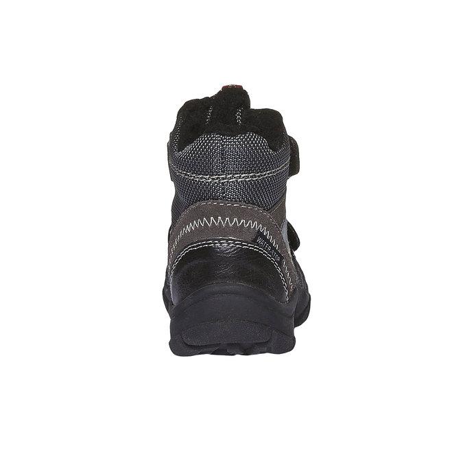 Buty dziecięce mini-b, szary, 199-2102 - 17