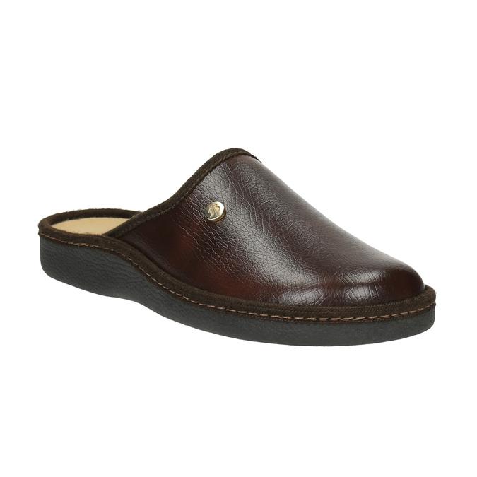 Kapcie bata, brązowy, 871-4304 - 13