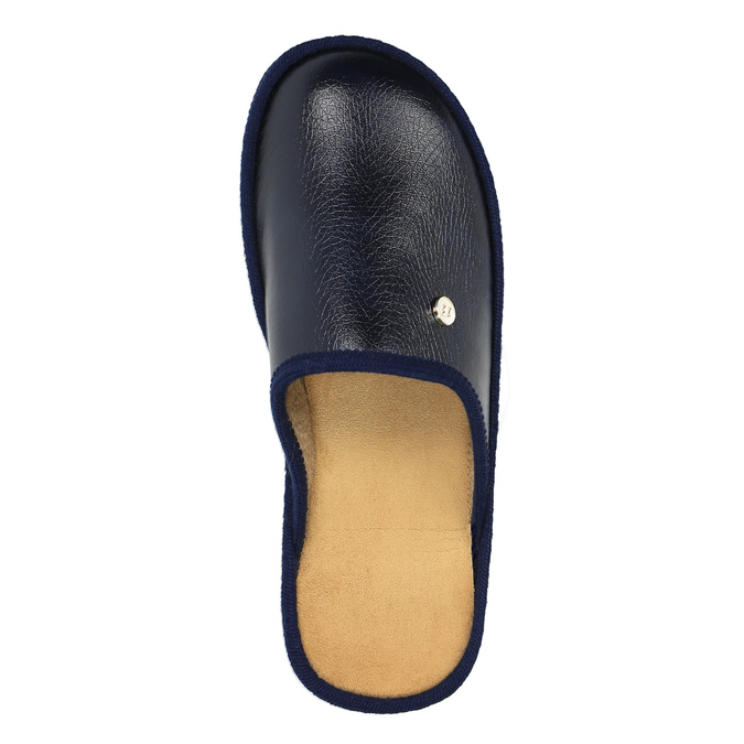 Kapcie bata, niebieski, 871-9304 - 19