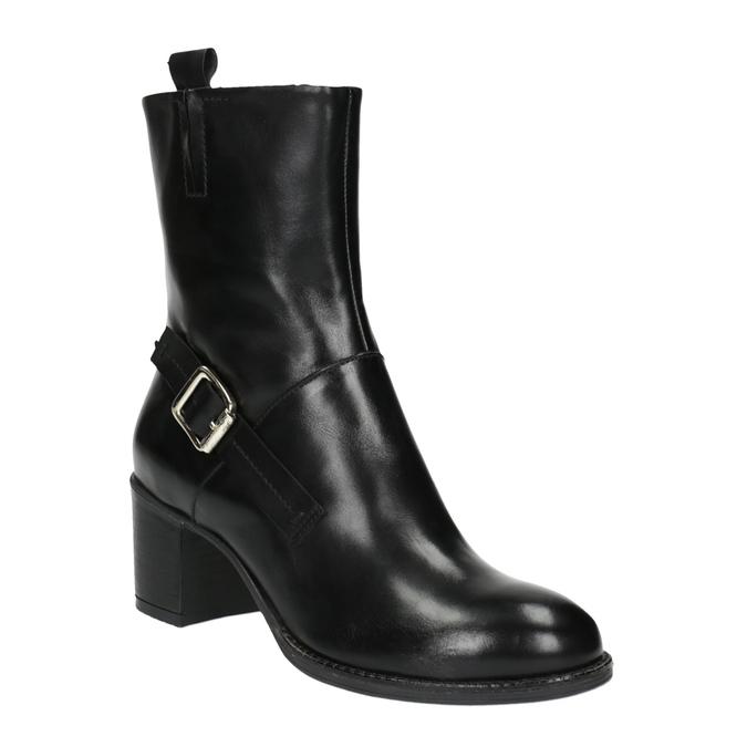 Damskie botki bata, czarny, 694-6359 - 13