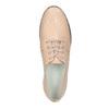 Damskie skórzane półbuty bata, różowy, 526-5613 - 19