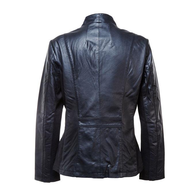 Skórzana kurtka damska bata, czarny, 974-6174 - 26